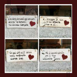 Targhette Amore